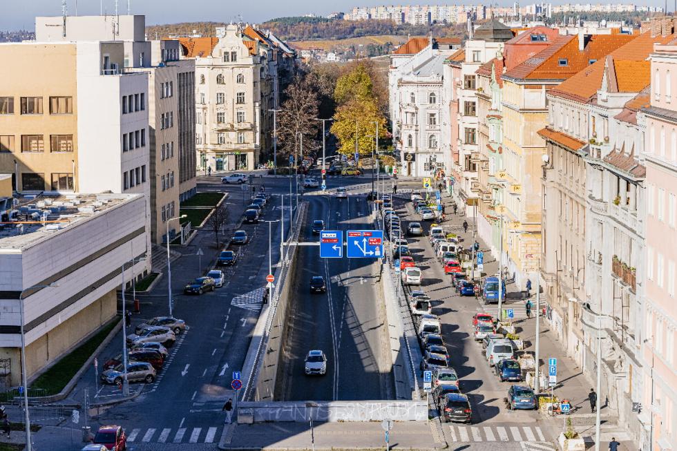 Ulice nad Štolou.