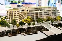 Podoba nové budovy NKÚ. Vizualizace.