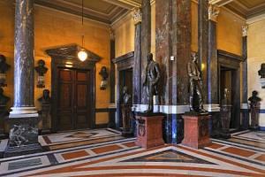 Pantheon Národního muzea před rekonstrukcí.