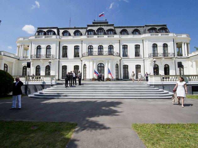 Ruské velvyslanectví v Praze.