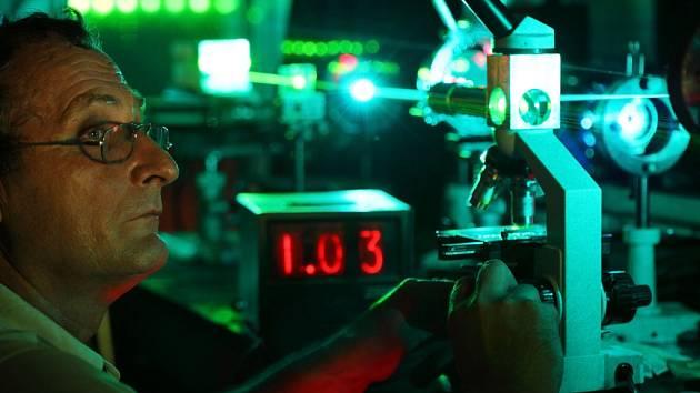 Test laseru. Ilustrační foto.