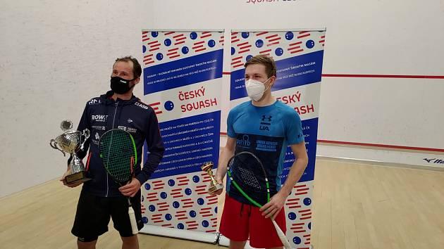 Strahovský turnaj ovládla squashová legenda Gregory Gaultier z Francie. Ve finále porazila Čecha Jakuba Solnického.