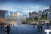 Prostor v okolí pražského hotelu InterContinental čekají v rámci projektu Staroměstská brána zásadní úpravy. Stavba označovaná jako Brand Store však narazila na odpor místních.