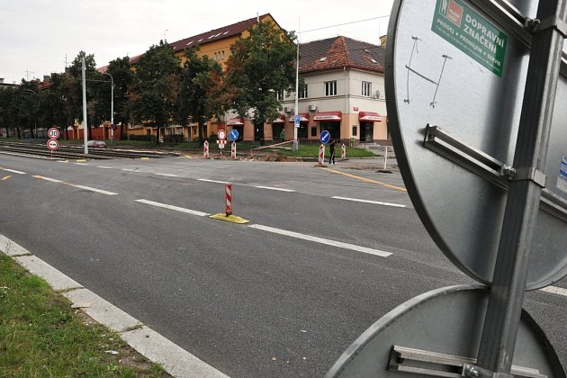 Poděbradská ulice v Praze