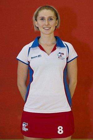 Kapitánka Česka Anna Vorlová.