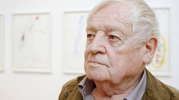 Výtvarník Karel Malich.