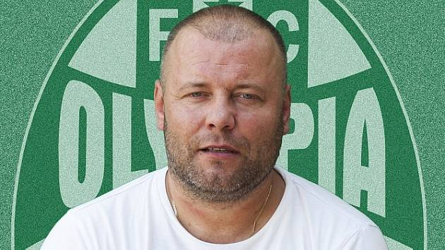 Miloš Sazima ještě jako trenér Olympie.