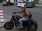 Spanilá jízda v rámci Prague Harley Days 2016.