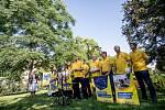 KDU-ČSL zahájila 5. září v Praze ostrou kampaň před podzimními sněmovními volbami.
