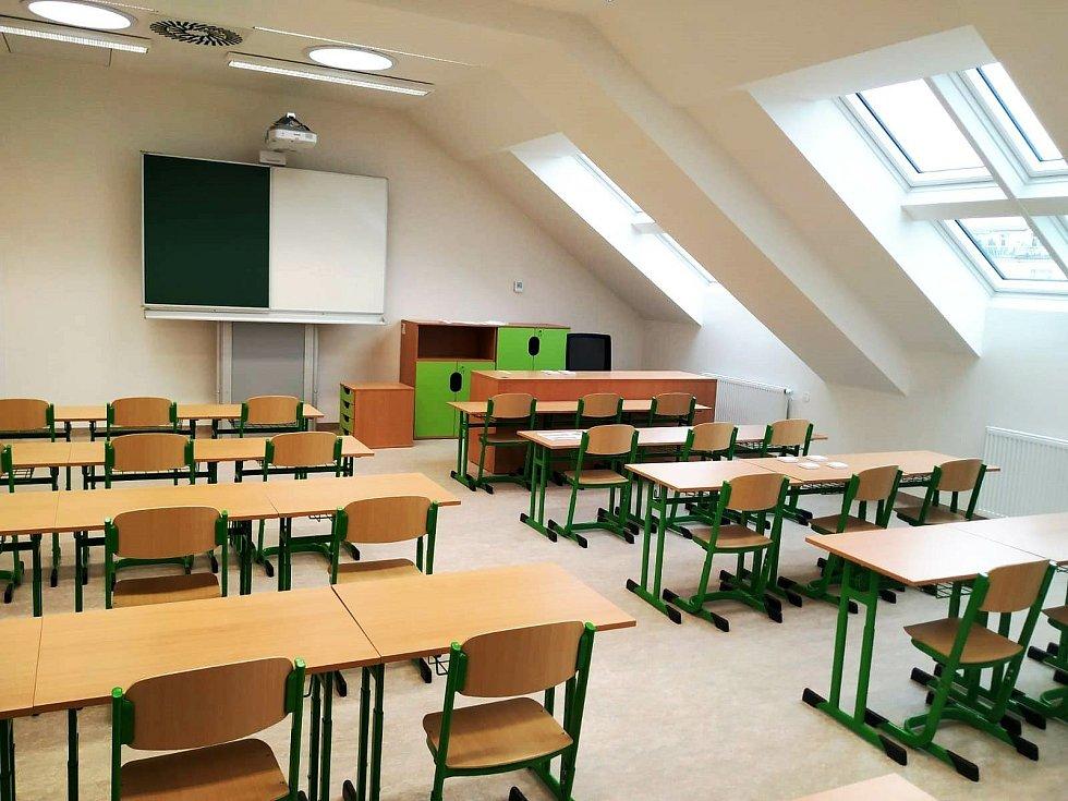 Základní škola T. G. Masaryka na Ortenově náměstí v Praze 7.