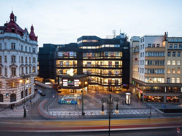 Obchodní dům Kotva na náměstí Republiky v Praze.