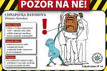 Jeden z letáků preventivně informační kampaně zaměřené především na kapesní krádeže.