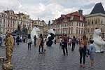 Pražský magistrát chce bojovat proti vizuálním smogu i takzvanému buskingu, tedy pouličnímu umění.