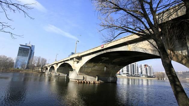 Libeňský most v Praze