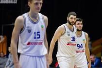 Basketbalisté USK Praha zvítězili na palubovce Ústí nad Labem 69:66.
