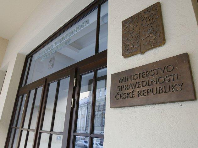 Ministerstvo spravedlnosti ČR. Ilustrační foto.