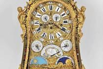 Barokní hodiny Le Roy A Paris