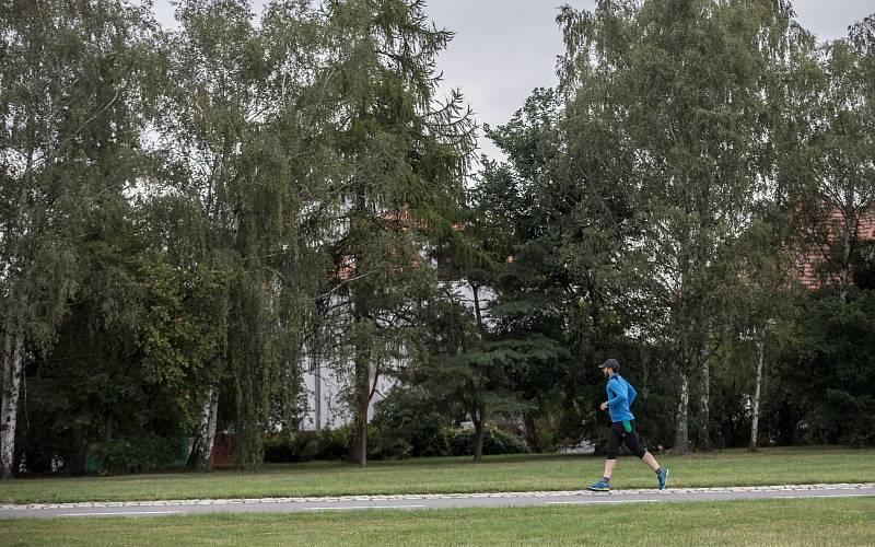 Běhání v Praze. Ilustrační foto.