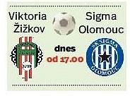 Viktoria Žižkov - Sigma Olomouc. Infografika.