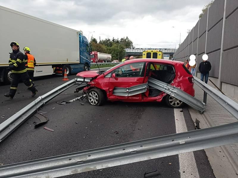 Nehoda u Mirošovic.