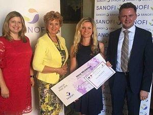 Pražská studentka Ivana Mejdrová získala ocenění za výzkum nových léků.