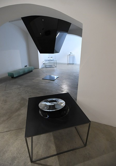 Výstava tandemu umělců Václava Ciglera a Michala Motyčky s názvem Dialog.