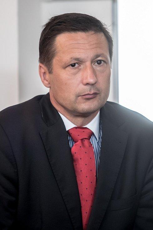 Strana zelených představila 16. června v Praze svůj program a lídry do podzimních parlamentních voleb. Petr Štěpánek - Středočeský kraj