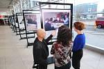 Na ruzyňském letišti začala výstava fotografií s Václavem Havlem.