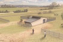 Při projektování zázemí byl kladen důraz na ekologický charakter stavby.