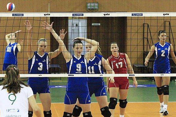 Olympská děvčata jdou do boje, v cestě jim stojí mistrovský Prostějov