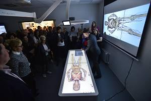 Slavnostní otevření nové budovy Ústavu anatomie 2. lékařské fakulty UK, 30. září 2019 v Praze.