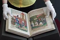 Výstava Jenského kodexu a dalších unikátů v Národním muzeu v Praze u příležitosti 600. výročí upálení Mistra Jana Husa v Kostnici.