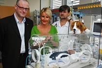 Nemocnice Na Bulovce má nový inkubátor