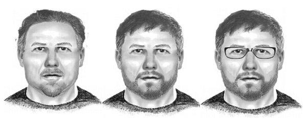 Identikit muže, který je podezřelý zpodílu na loupeži 33milionů