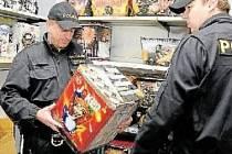 kontrola prodávané pyrotechniky