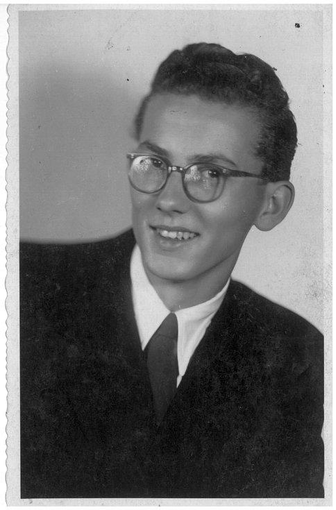 Student Josef Chrastil.