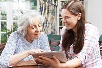 O služby náhradních vnoučat je velký zájem.