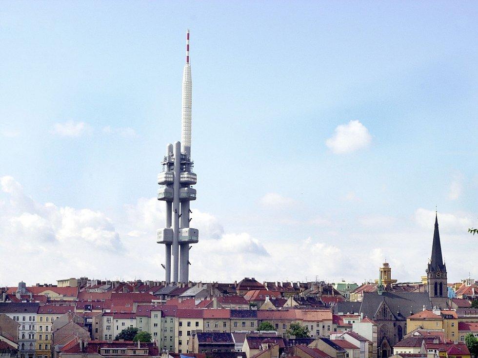 Žižkovská věž. Ilustrační foto.