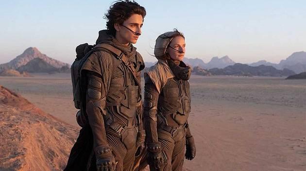 Kino Svět v Lounech promítá kultovní sci-fi Duna.