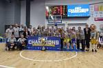 Vyhrávat nikdy neomrzí. Basketbalistky USK nemají u nás konkurenci a jsou opět mistryněmi Česka.