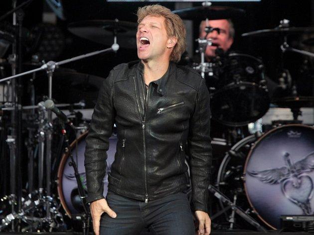 Bon Jovi v Synot Tip Aréně.