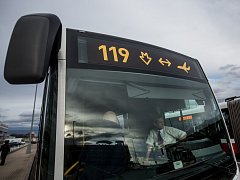 Autobus na letiště. Ilustrační foto.