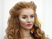 Mezinárodní Mistrovství ČR v make-upu 2017.