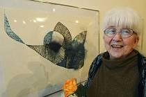 Malířka a kreslířka Daisy Mrázková.