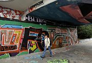 Legální plochy pro graffiti - Vršovice, Těšnov, Holešovice, Prosek.
