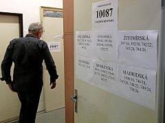 Volby do Senátu na Praze 10. Ilustrační foto.