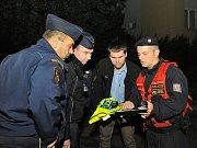 Evakuace v Záběhlicích.