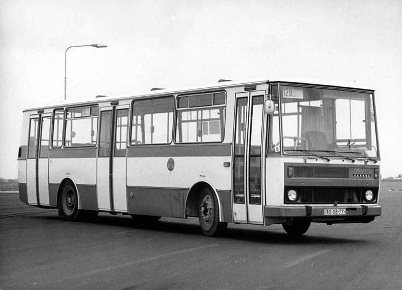 Autobusy v Praze slaví 21. června 2020 významné jubileum – před 95 byl zaveden jejich provoz. Na snímku je vůz Karosa B731.