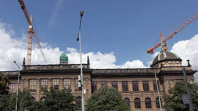 Budova Národního muzea.