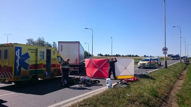 Na Ďáblické ulici došlo k vážné dopravní nehodě.